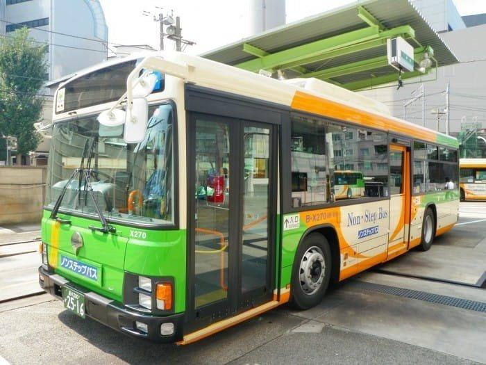 الحافلات في اليابان